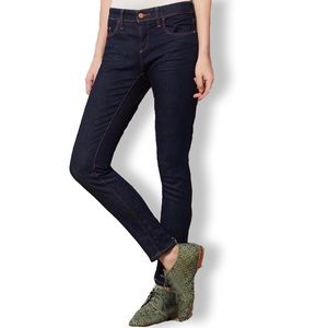 Anthropologie • Dark Wash Pilcro Serif Skinny Jean